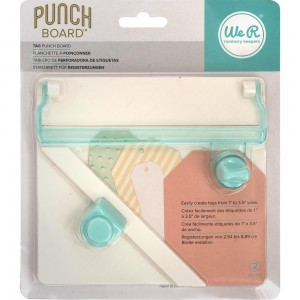 [6602484] We R Memory Keepers Tag Punch Board