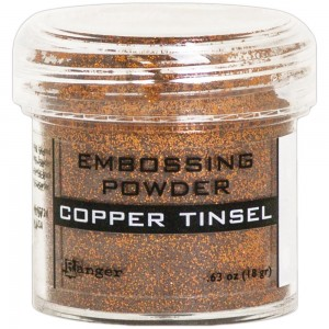 Puder do embossingu Copper Tinsel