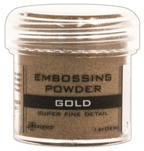 Puder do embossingu Super Fine Gold