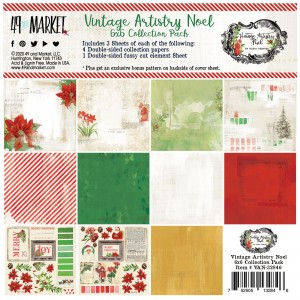 Vintage Artistry Noel: 6x6' Paper Collection
