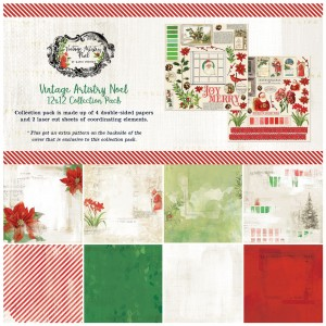 Vintage Artistry Noel: 12x12' Paper Collection