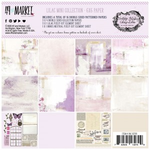 Vintage Artistry Lilac: 6x6' Paper Collection