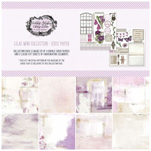 Vintage Artistry Lilac: 12x12' Paper Collection