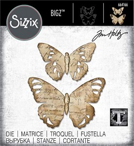 [664166] Wykrojnik Bigz: Tattered Butterfly