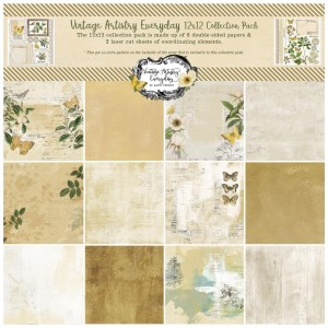 Vintage Artistry Everyday: 12x12' Paper Collection
