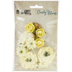 Kwiaty Country Blooms Cream
