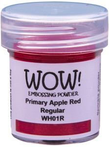 [WH01R] Puder do embossingu: Primary Apple Red