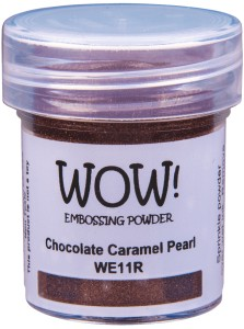 [WE11R] Puder do embossingu: Chocolate Caramel Pearl