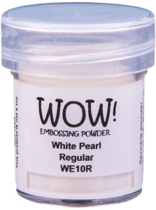 [WE10R] Puder do embossingu: White Pearl