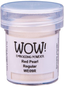 [WE09R] Puder do embossingu: Red Pearl