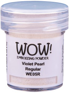 [WE05R] Puder do embossingu: Violet Pearl