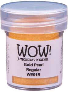 [WE01R] Puder do embossingu: Gold Pearl
