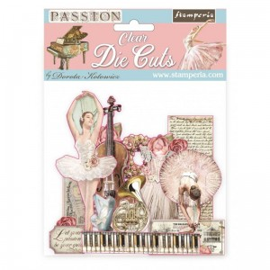 [DFLDCP04] Passion: Clear Die-cuts