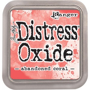 Tusz Distress Oxide Abandoned Coral