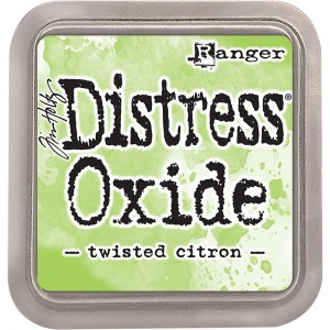 Tusz Distress Oxides Twisted Citron