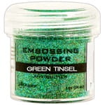Puder do embossingu Green Tinsel