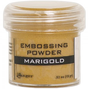 Puder do embossingu Marigold Metallic