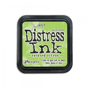 Tusz Distress Twisted Citron