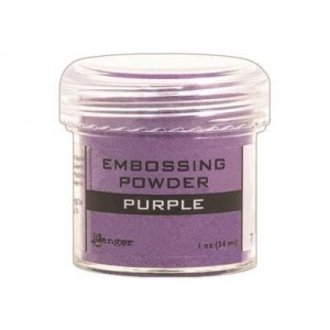 Puder do embossingu Purple