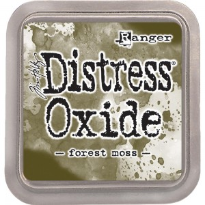 Tusz Distress Oxides Forest Moss