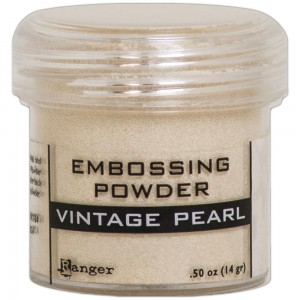 Puder do embossingu Vintage Pearl
