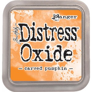 Tusz Distress Oxide Carved Pumpkin