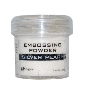 Puder do embossingu Silver Pearl