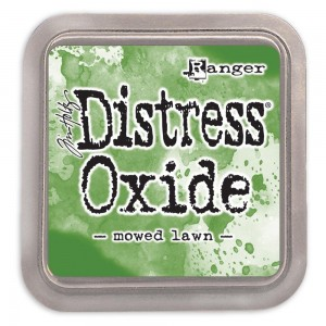 Tusz Distress Oxides Mowed Lawn