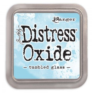 Tusz Distress Oxides Tumbled Glass
