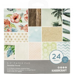 [PP1062] Paradise Found: Paper Pad 6.5x6.5 cala