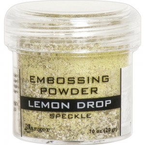 Puder do embossingu Lemon Drop