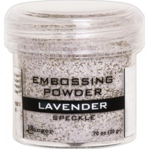 Puder do embossingu Lavender