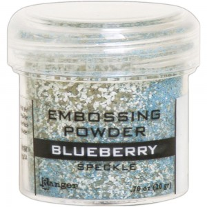 Puder do embossingu Blueberry