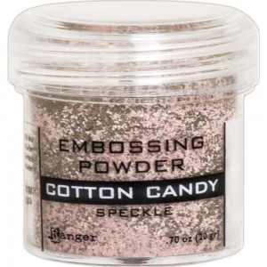 Puder do embossingu Cotton Candy