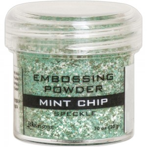 Puder do embossingu Mint Chip