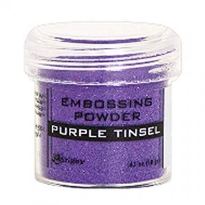 Puder do embossingu Purple Tinsel