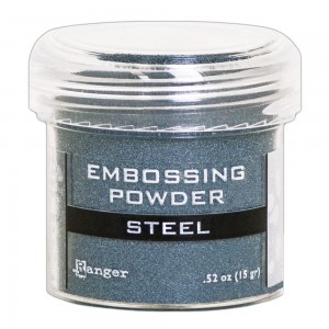 Puder do embossingu Steel