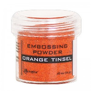 Puder do embossingu Orange Tinsel