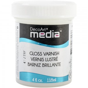 Werniks DecoArt Media Varnish Gloss