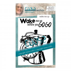 [COC-069] Stempel Polimerowy Wake me up