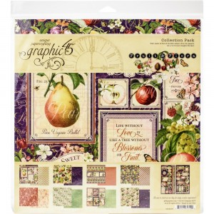 Fruit & Flora: 12x12' Paper Collection