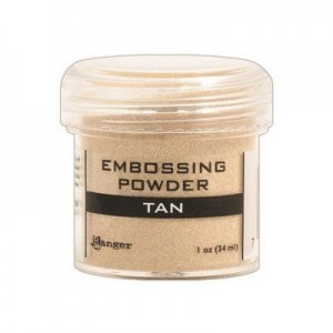 Puder do embossingu Tan
