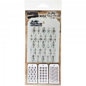 [MTS 32] Tim Holtz Mini Stencil Set 32