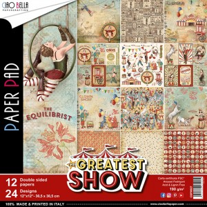 [CBPM027] The Greatest Show: Zestaw Papieru 12x12'