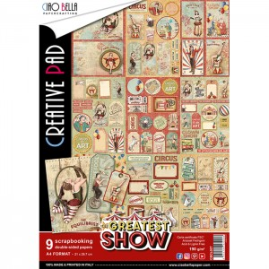 [CBCL027] The Greatest Show: Zestaw Papieru A4