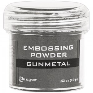Puder do embossingu Gunmetal Metallic
