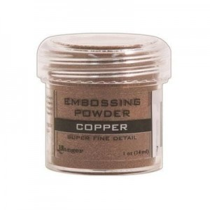 Puder do embossingu Super Fine Copper