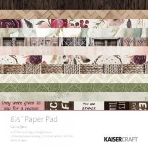 [PP1048] Gypsy Rose: Paper Pad