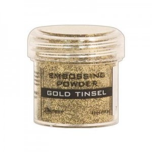 Puder do embossingu Gold Tinsel