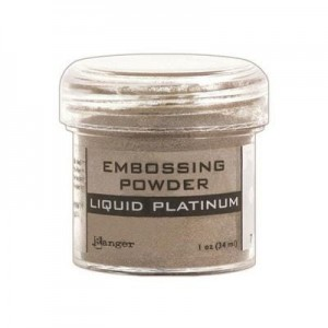Puder do embossingu Liquid Platinum